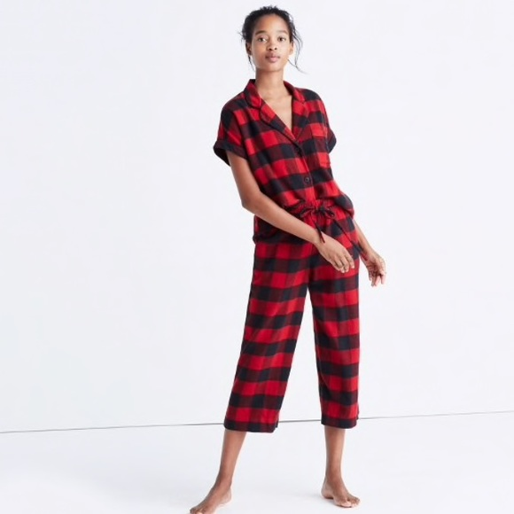 338048c44d1 Madewell Intimates & Sleepwear | Flannel Pajama Buffalo Check Plaid ...